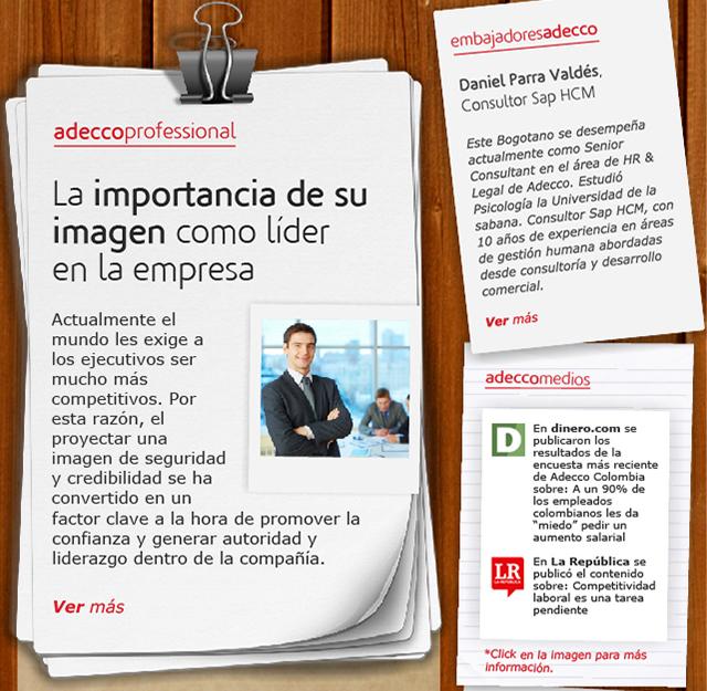 La importancia de su imagen como líder en la empresa