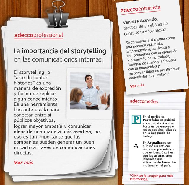 La importancia del storytelling en las comunicaciones internas