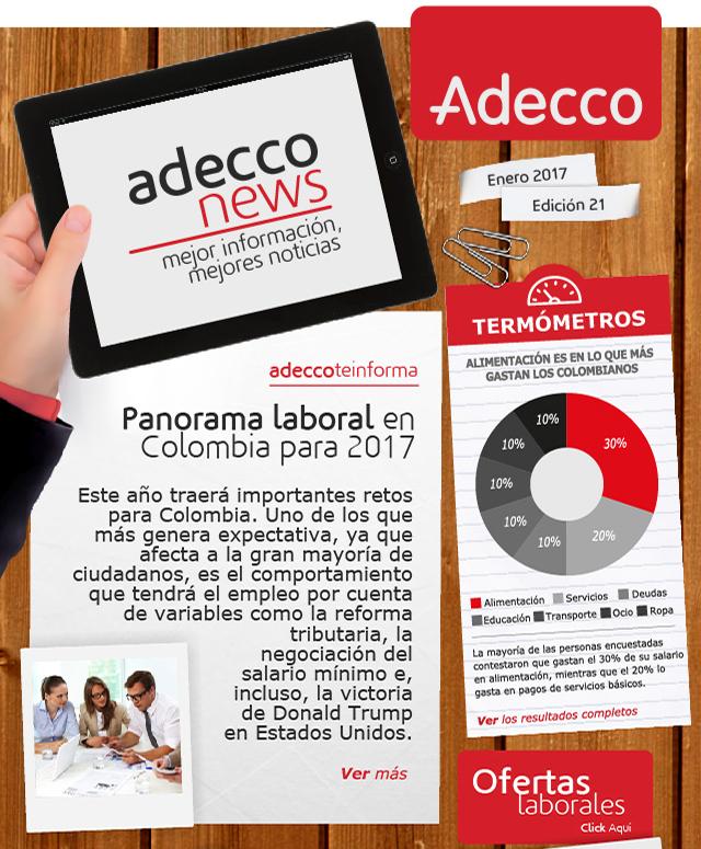 Adecco busca mejorar la gestión del recurso humano en Barranquilla