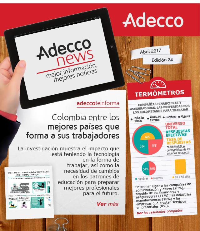 Colombia entre los mejores países que forma a sus trabajadores