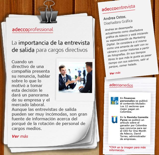 La importancia de la entrevista de salida para cargos directivos