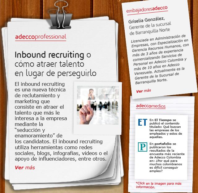Inbound recruiting o cómo atraer talento en lugar de perseguirlo